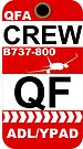 QF Boeing 737-800 Crew Adelaide by AvGeekCentral