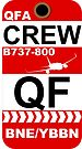 QF Boeing 737-800 Crew Brisbane by AvGeekCentral