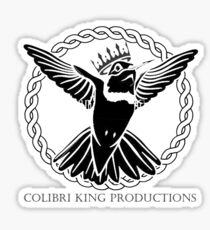 Colibri King Productions Sticker
