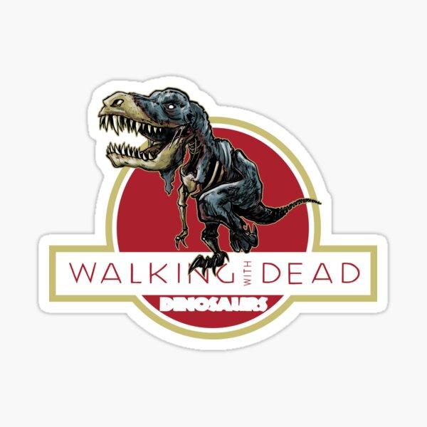 Walking With Dead Dinosaurs Sticker