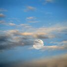 Moon In The Clouds by PhoenixArt