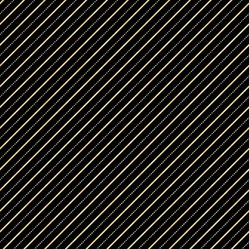 Black and Gold Line Geometric Pattern by JakeRhodes