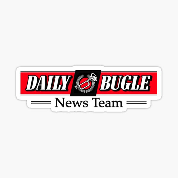 Daily Bugle News Team  Sticker