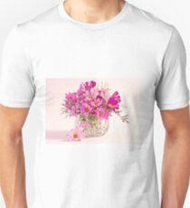 Cosmos - Summers Last Bouquet  Unisex T-Shirt