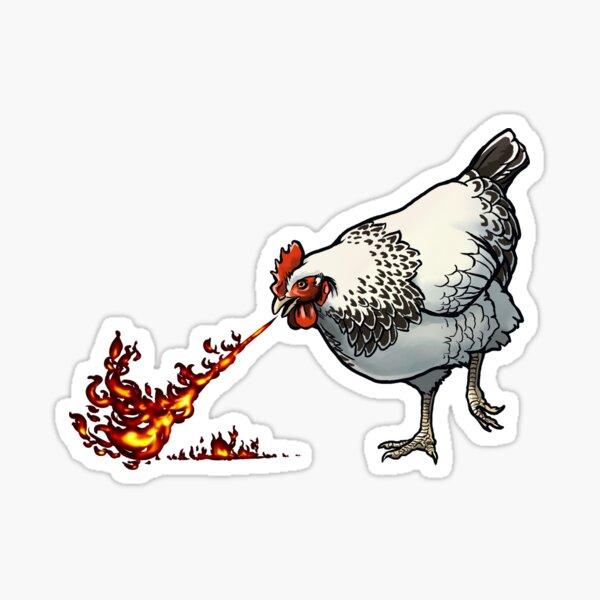 FLAMEHEN Sticker