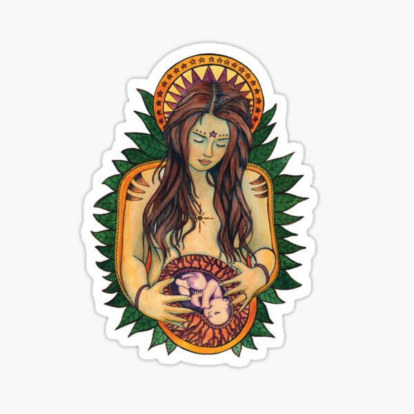 Mother Goddess Sticker