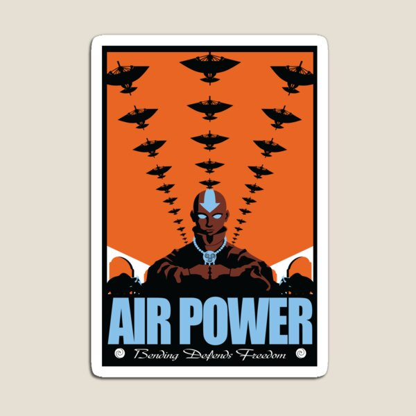 Air Power: Bending Defends Freedom Magnet