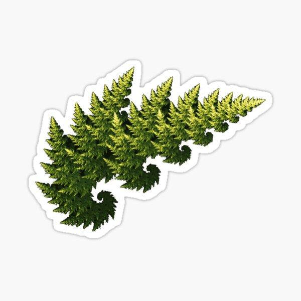 Tree Fractal Sticker