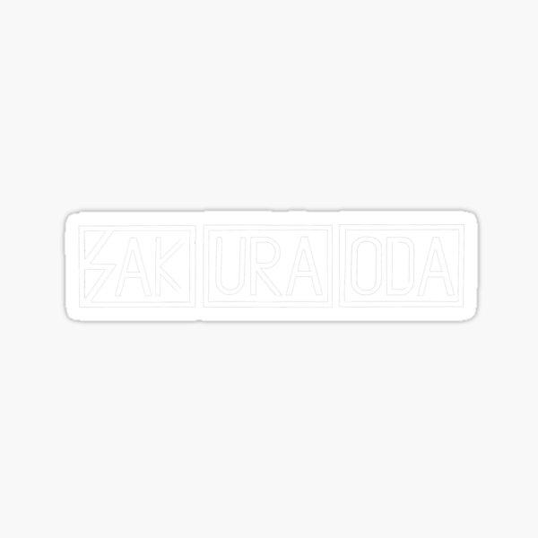 Subhuman Sakura - White Sticker