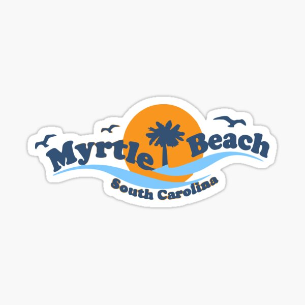 Myrtle Beach -  South Carolina.  Sticker