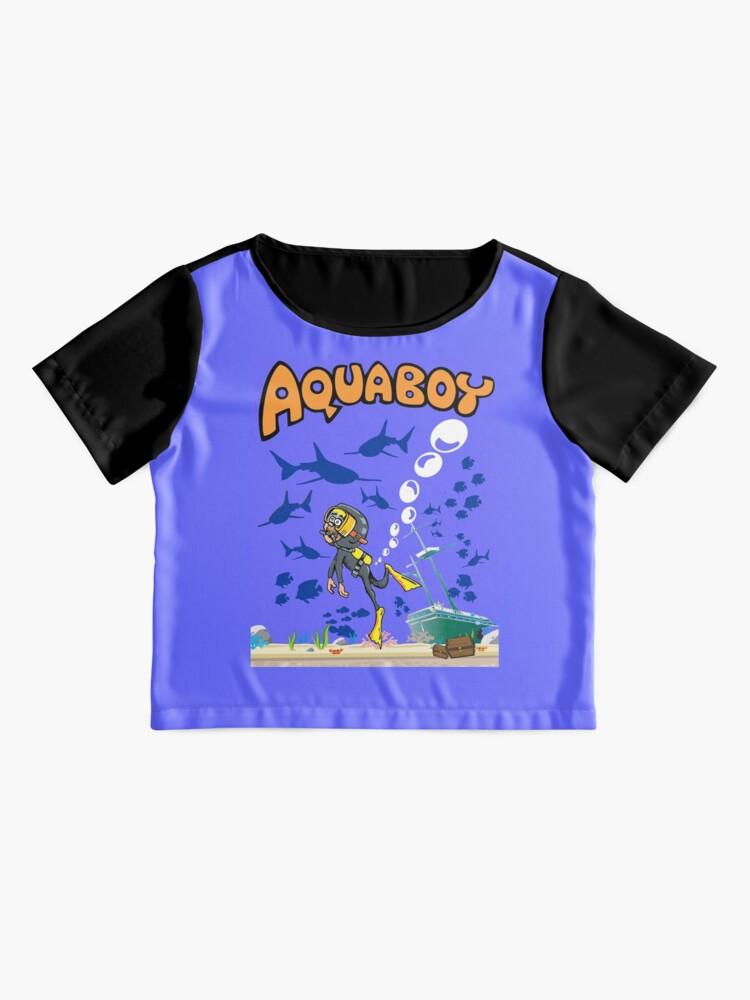 Alternative Ansicht von Aquaboy - Tiefblaues Meeresabenteuer Chiffon Top