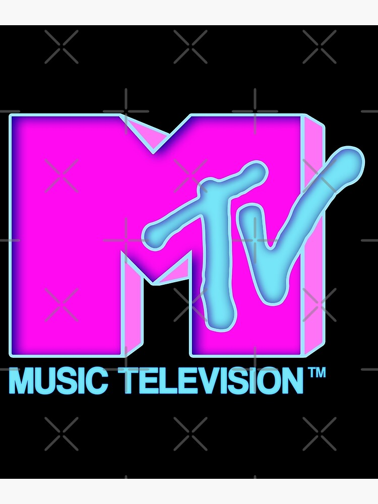 MTV - Neon 80s design by KelsoBob