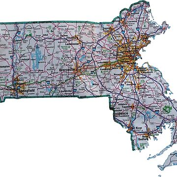 Mapa de ruta de Massachusetts de Havocgirl