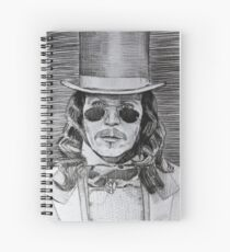 Gary Oldman Dracula Pencil Cross Contour Shading Spiralblock
