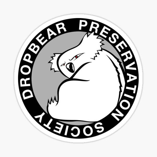 Dropbear Preservation Society Sticker