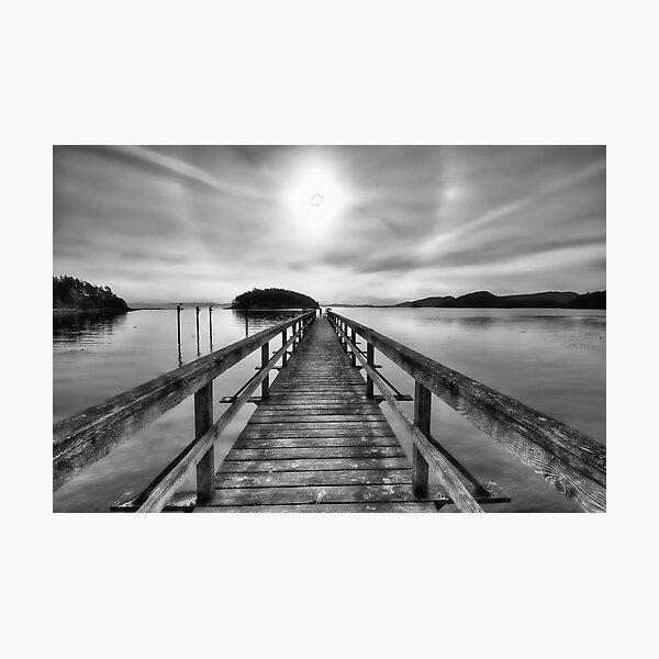 Dock to Nowhere Photographic Print