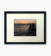 Mahon Pool Framed Print