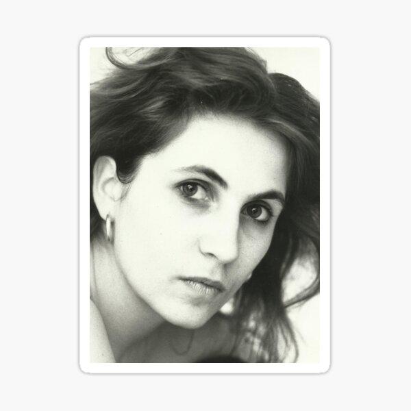 Daniela in black and white Sticker