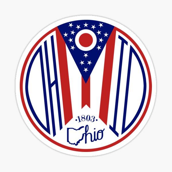 Deco Ohio Seal Sticker