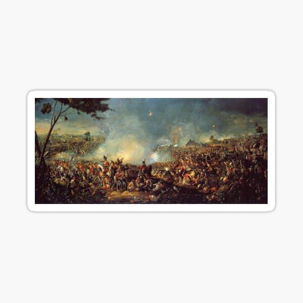 Battle of Waterloo 1815 Sticker