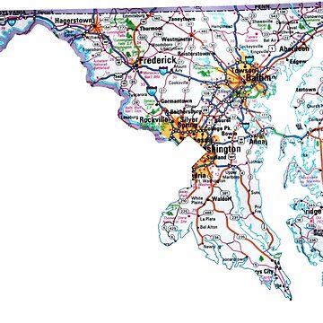 Mapa de Maryland de Havocgirl