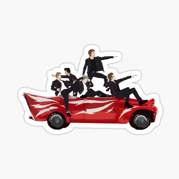Grease Lightning! Sticker