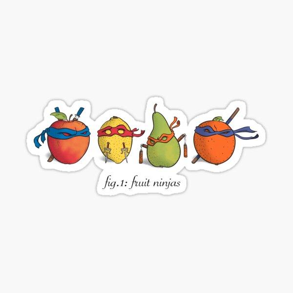 Fruit Ninja Turtles Sticker