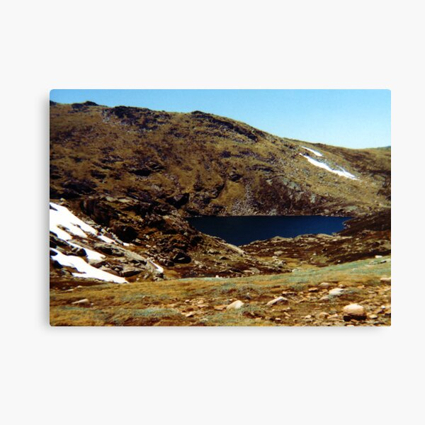 Blue Lake, Mt Kosciuszko Canvas Print