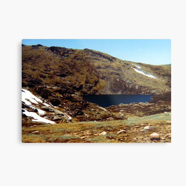 Blue Lake, Mt Kosciuszko Metal Print