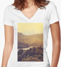 Austria Women's Fitted V-Neck T-Shirt
