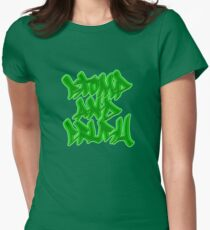 Stomp and Crush - 2015 - Green Fitted T-Shirt