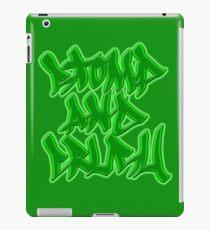 Stomp and Crush - 2015 - Green iPad Case/Skin