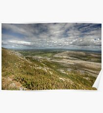 Slieve Carran View Poster