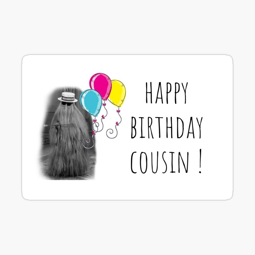 Alles Gute Zum Geburtstag Cousin The Addams Family Cousin Itt