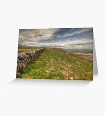 Slieve Carran Wall Greeting Card