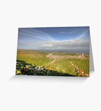 Burren View Greeting Card