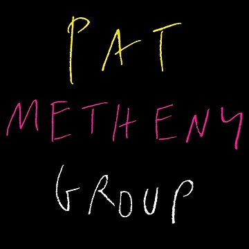 Pat Metheny Group 1985 Logo by tomastich85