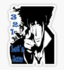 3, 2, 1 Let's Jam! Sticker