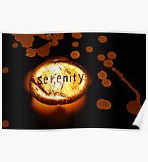Light of Serenity - Crystals Poster