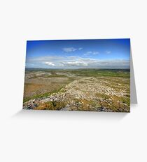 Mullaghmore morning view Greeting Card