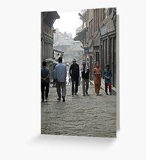 street life Greeting Card
