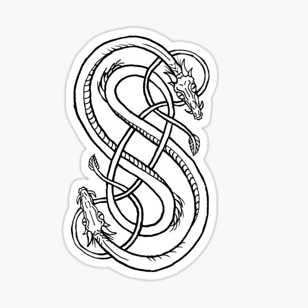 Snakes Of Loki Sticker
