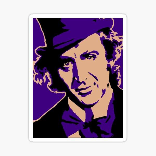 Willy Wonka Sticker