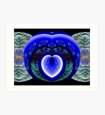 You Have Breached the Wall Surrounding My Heart Art Print