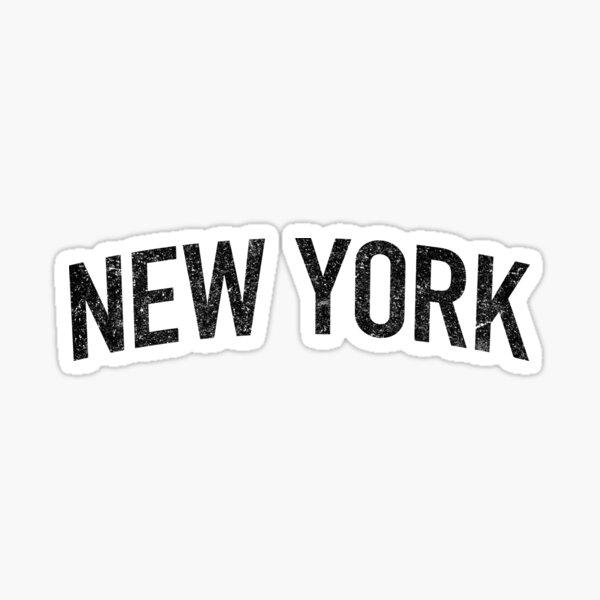 Classic New York Tee Sticker