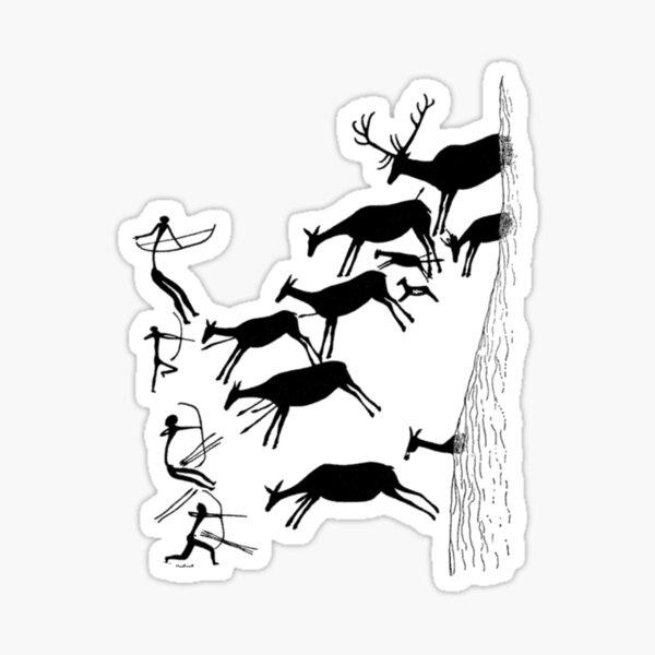 Stag Hunting in Valltoria Sticker