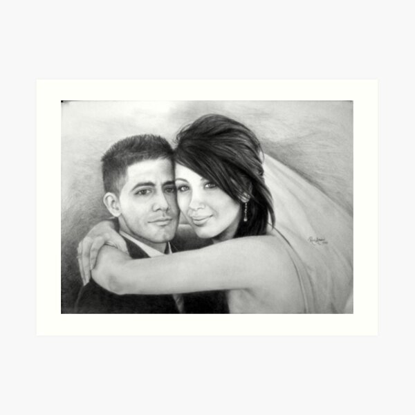 Wedding Bliss Art Print