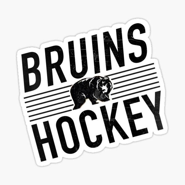 Bruins Hockey Sticker
