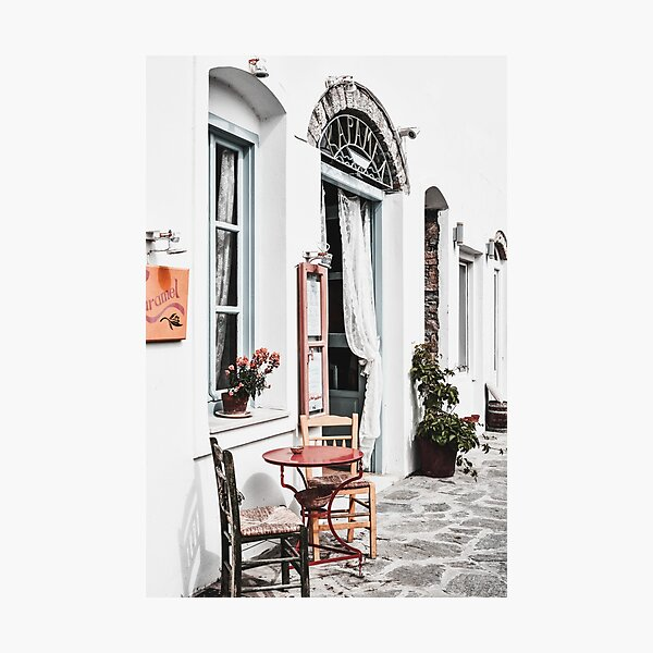 Amorgos island Greece Photographic Print