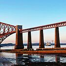 South Queensferry Rail Bridge by emmadoes-art